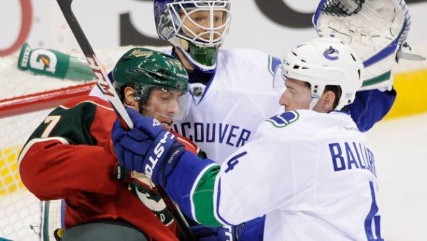 Canucks Dominant Minnesota Wild