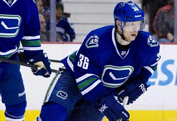 Jannik Hansen, is he in trouble?