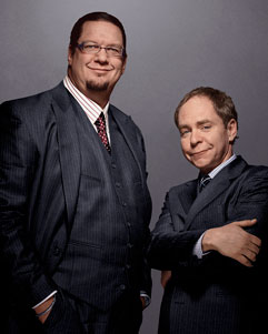 Penn & Teller Tickets March 22nd