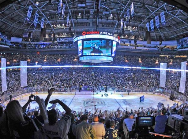 Seating Options in Rogers Arena - Canucks Game