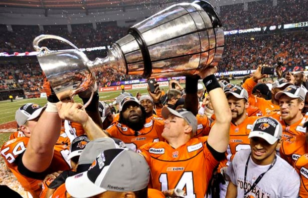 2014 CFL Grey Cup Returns to Vancouver!