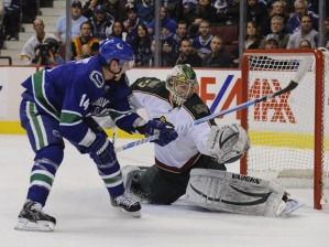 Canucks take on the Wild! We need a win!